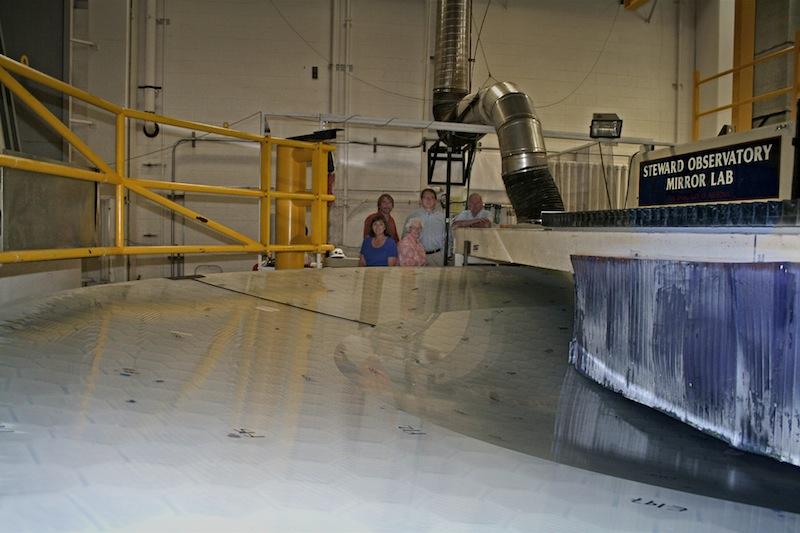 Lsst un grand t lescope pour un relev synoptique du for Polissage miroir telescope